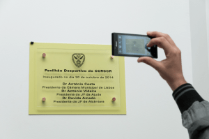 Inauguracao Pavilhao